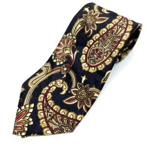 Vintage Paisley Christian Dior Tie